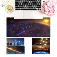 durable dyson sphere program mouse pad laptop pc computer mause pad desk mat for big gaming mouse mat for overwatchcs go