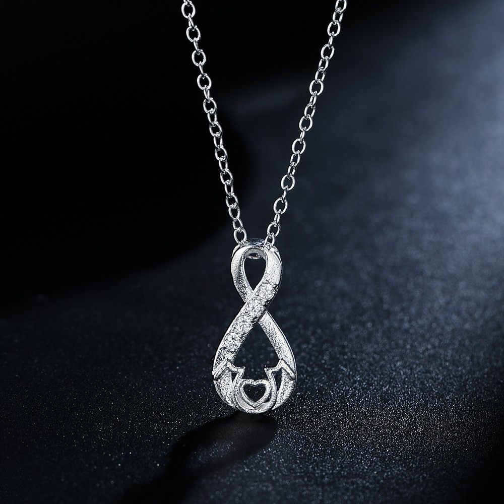 925-Серебряное-ожерелье-18-дюймов-обувь-с-украшением-в-виде-кристаллов-элегантные-подвеска-в-виде-сердца-с-надписью-mom-для-женщин-модное-ювели