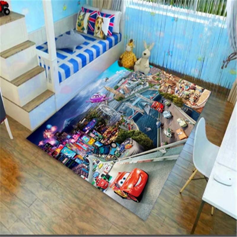 Disney 3D коврик для дверей машин, детский игровой коврик для мальчиков и девочек, кухонный коврик для спальни, коврик для ванной комнаты, детски...