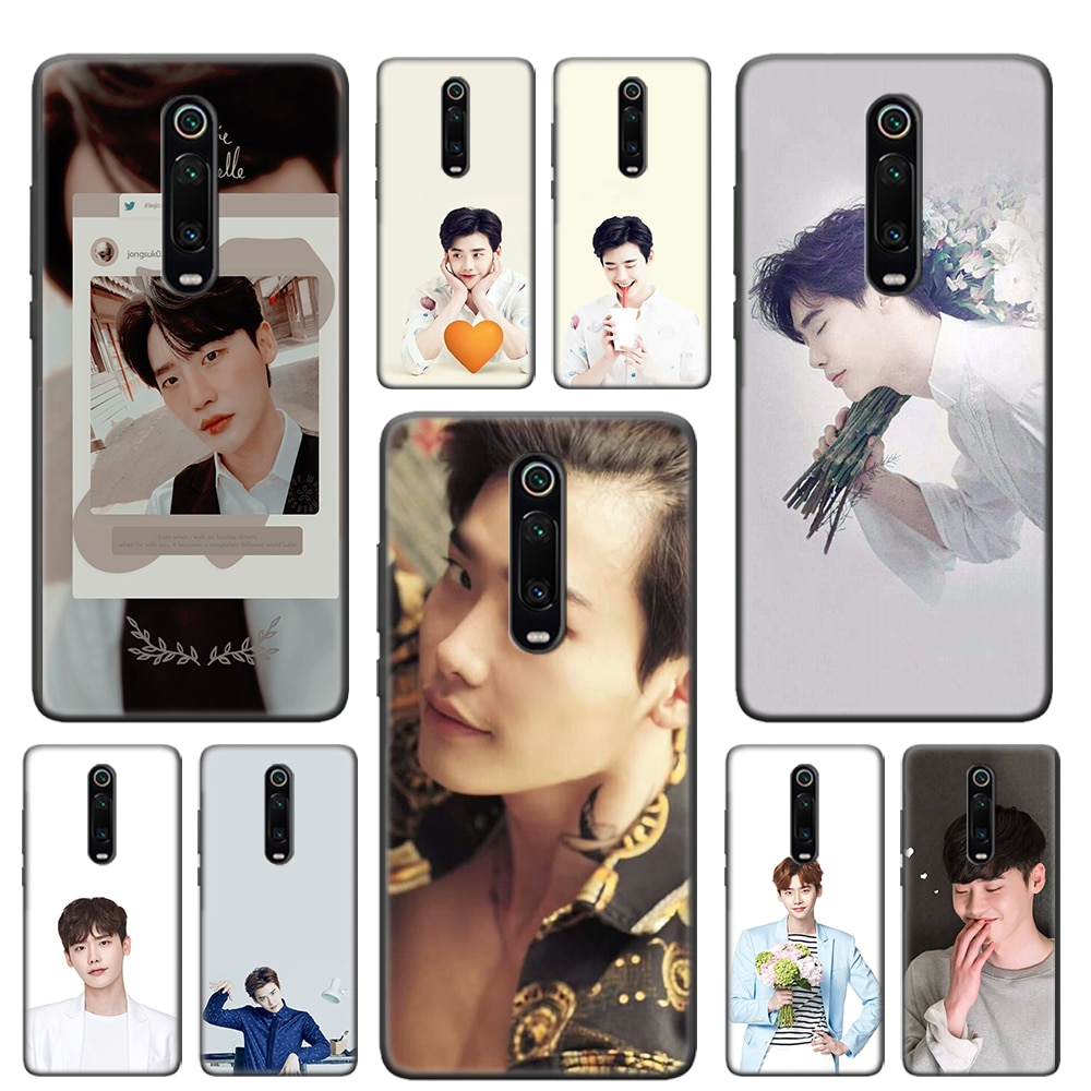 Idol Lee Jong Suk мягкий чехол для телефона Xiaomi Redmi Note 9 8T 7 6 8 K20 K30 Pro 5G Redmi 7 7A 8 8A чехол
