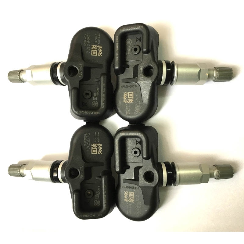 4 Uds SENSOR de presión de neumáticos de TPMS para TOYOTA CAMRY LEXUS SCION (GS 2005-Marzo de 2012) 42607-33011, 42607-33021 PMV-107J