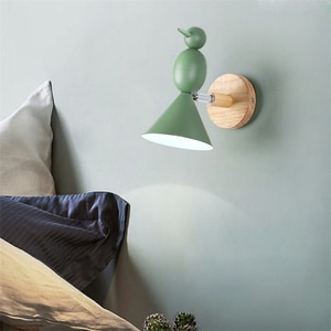 Nordic Led Wall Lamps Bird Lights Modern Bedroom Bedside Lamps  Fixtures for Living Room Corridor Decor Sconces Led Wall Lights