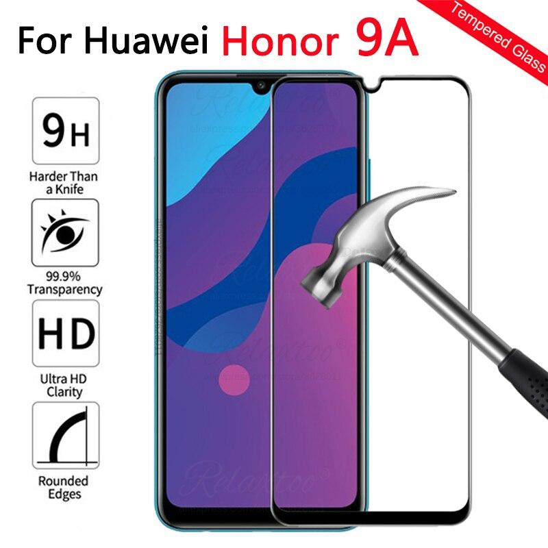 Tam+kapak+temperli+cam+i%C3%A7in+Huawei+onur+9A+ekran+koruyucu+%C3%BCzerinde+honor9+bir+a9+honor9a+moa-lx9n+koruyucu+Film+ekran+Glas+9H