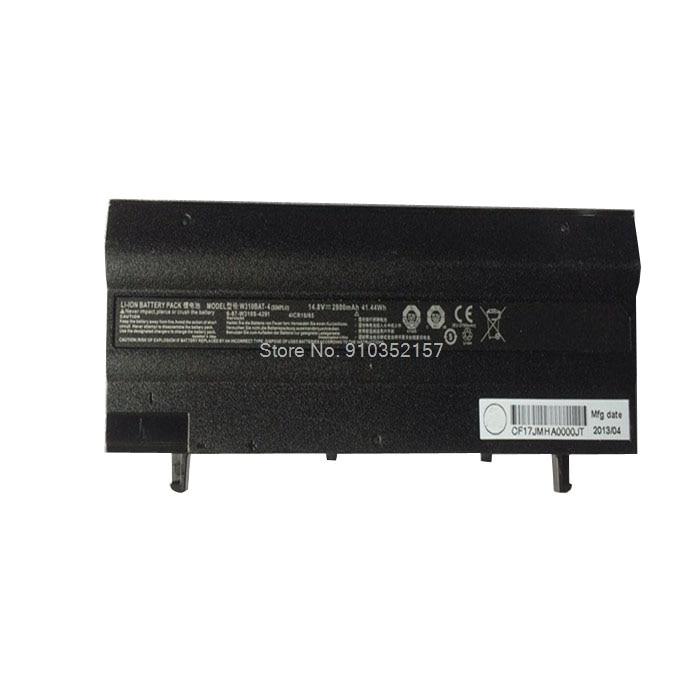 Laptop 6-87-W310S-4UF1 Batterie Für CLEVO W130 W310BAT-4 6-87-W310S-42F1 6-87-W310S-42F 14,8 V 2200mAh W310CZ W310CZ-T Neue