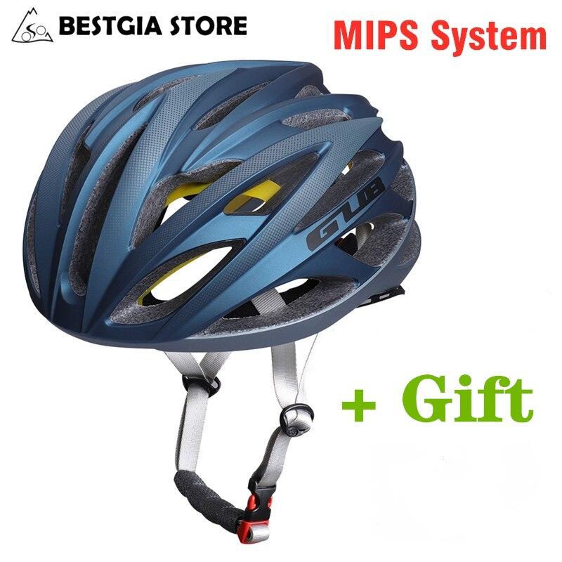 MIPS+3D Keel Cycling Helmet Ultralight Safety Racing Road Bike Helmet Men Women Sports MTB Bicycle Helmet with Polarized Glasses