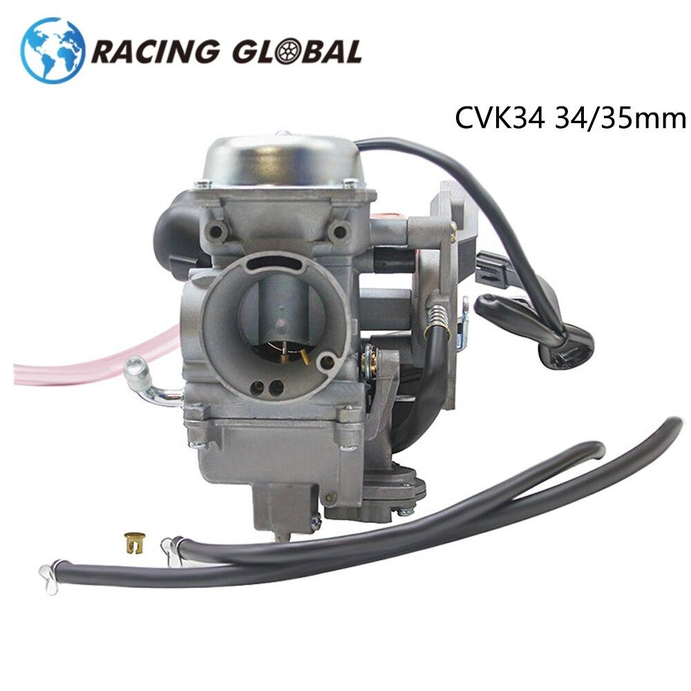 ALCON-Carreras de CVK34 34mm CVK35 35mm carburador para Park ATV KAWASAKI 08-13 PRAIRIE 360 4X4 CAMO de carreras de la motocicleta