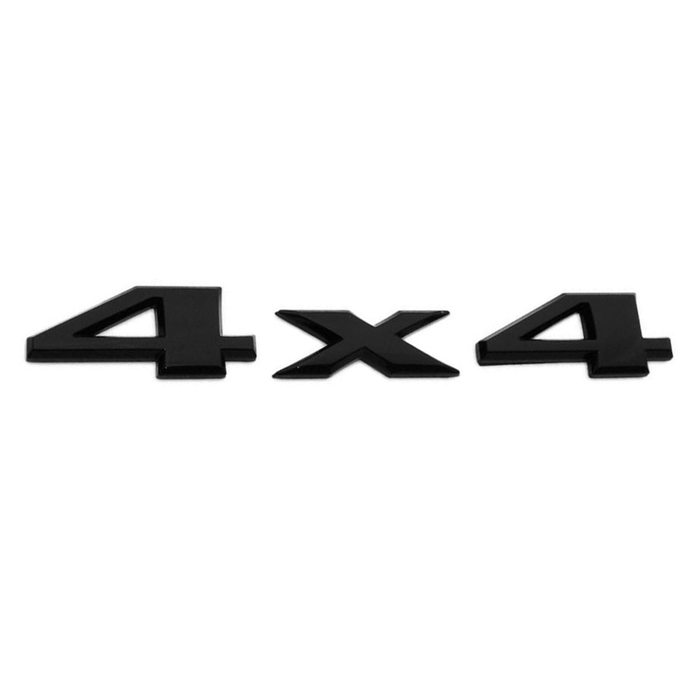 3D Design Gloss Black 4X4 Liftgate Emblem Nameplate Badge Sticker For Jeep Grand Cherokee Rustproof And Waterproof Never Fade
