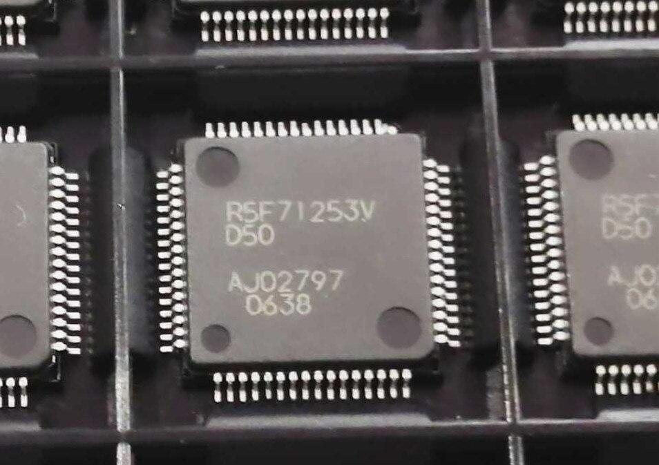 R5F71253V R5F71253VD50 R5F71253VN50 QFP64 2 قطعة
