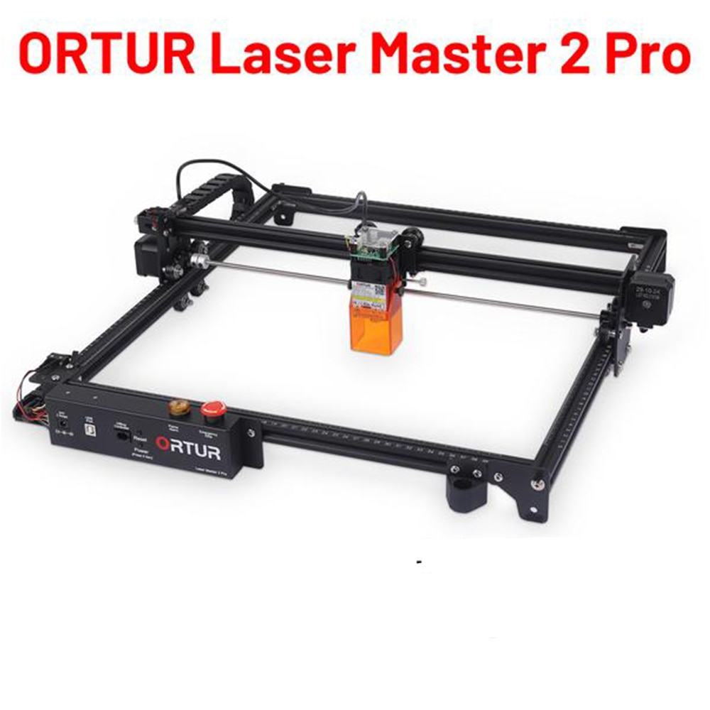 2021 Ortur Laser Master 2 PRO DIY Laser Engraver and Cutter-400x400mm -Multiple Safety Protection Easy to Install Laser Engraver ortur laser master desktop laser engraver cutter laser engraving machine 32 bit motherboard laser grbl control software easy to install