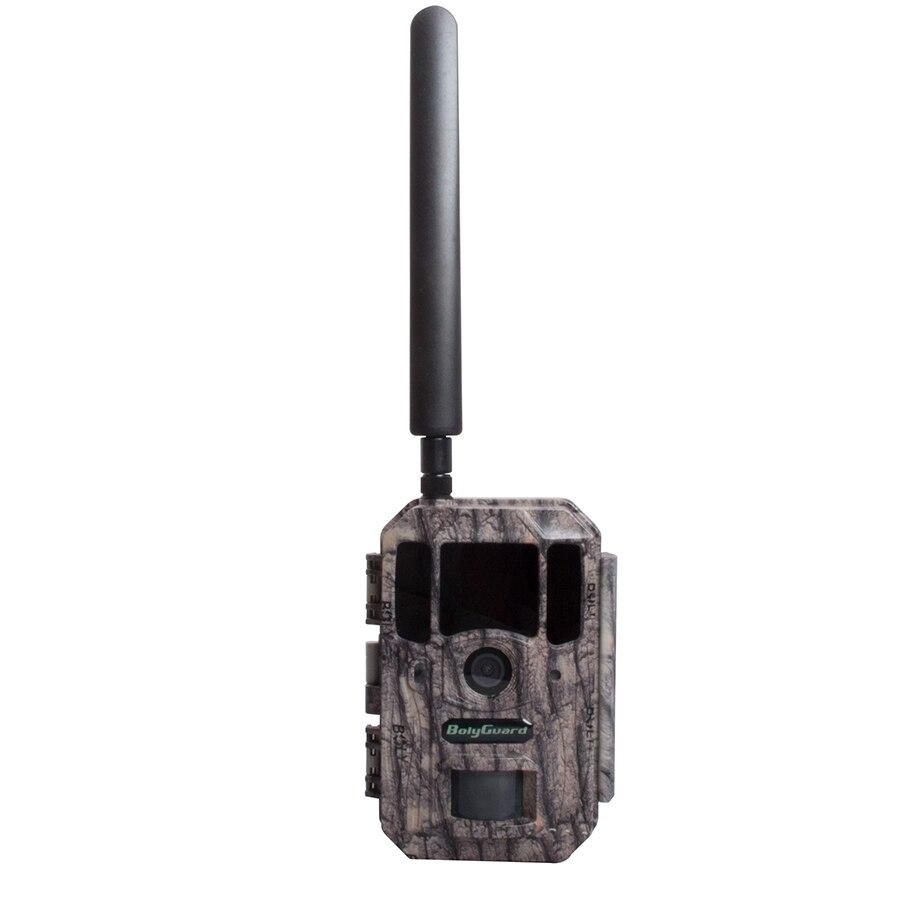 4g câmera de caça 4 k vídeo gps informações no e-mail sem brilho ir 110 graus fov suporte serviço nuvem sem fio jogo kamera gsm bolyguard