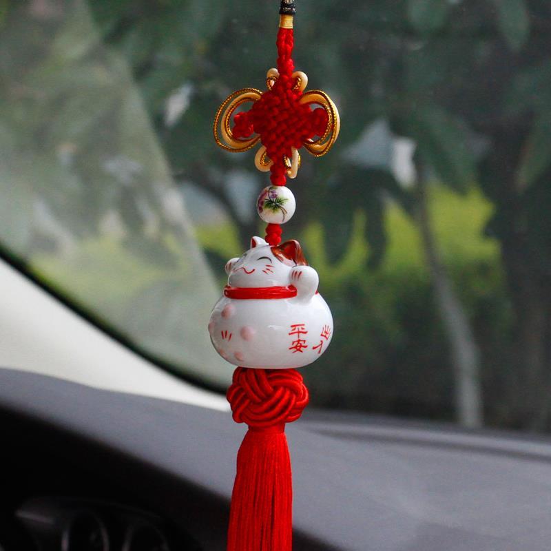 Onever enfeite de pendurar para carro, onever, espelho retrovisor, decoração para carro, pingente fofo, sorte