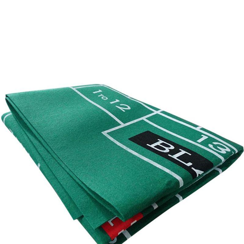 Двухсторонняя скатерть для игры русская рулетка и блэкджек игровой стол коврик K1KD-2