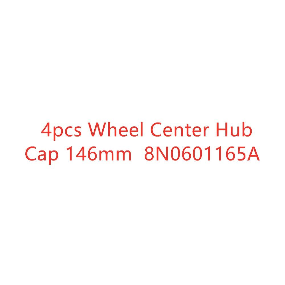 4 pcs NOVO CENTRO de RODA CAPS Para Audi TT A6 S6 146 milímetros 8N0 601 165A 8N0601165A 8N0 601 165 UM