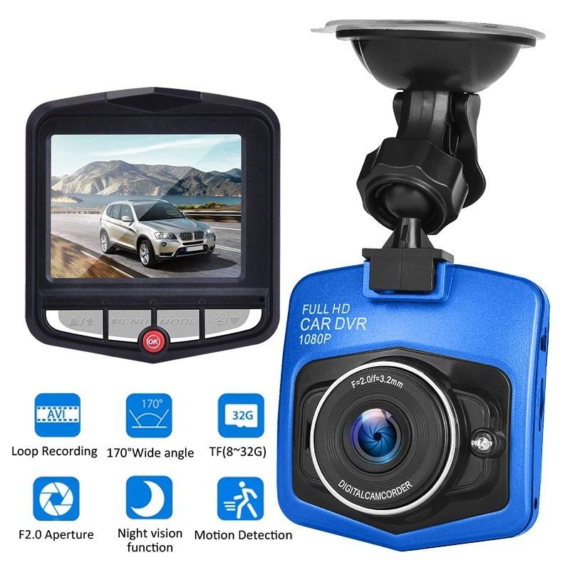 Cámara para salpicadero de coche 1080P con forma de escudo grabadora de conducción de coche cámara para salpicadero de coche 170 grados de ancho Ángel DVR Dash Cam Video registrador