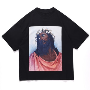 LACIBLE Men Hip Hop Harajuku T-Shirt Streetwear Letter Graphic Print Tshirt 2021 Summer Short Sleeve Cotton Casual Tops Tees