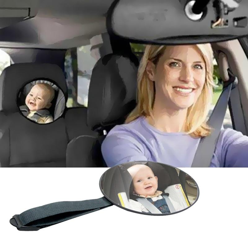Автомобильное Зеркало для безопасного обзора, зеркало для заднего сиденья, зеркало для защиты от детей, квадратное безопасное зеркало для н...