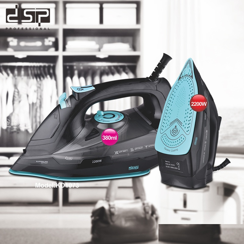 2200W Household Portable High-Power Dry Wet Handheld Steam Electric Iron