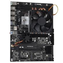 Placa base AMD G34 hembra X89 DDR3 32G memoria SATA II USB 3,0 para G34 computadora placa base AMD Opteron 6386 SE 6176, 6128, 6230