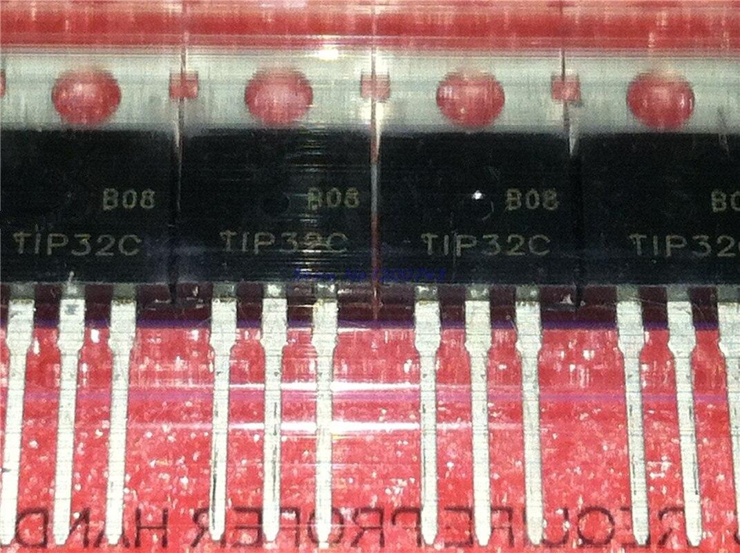 10 unids/lote TIP32 TIP32C PNP/control de transistores/transistor darington a-220 en Stock