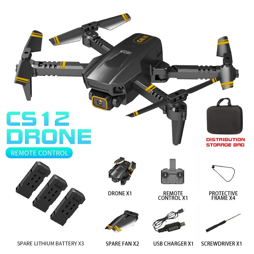 77. Dron Control Remoto con Cámara HD 4k Control Automático