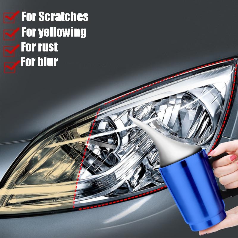 AliExpress - 20ml Car Headlight Repair Fluid Scratch Removal Oxidation Repair Polishing Lampshade Cleaning Tool Light Refurbishment Coating