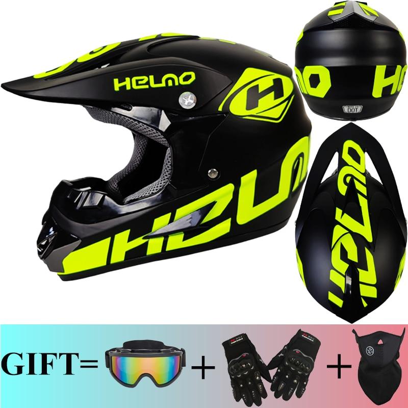 Мотоциклетный шлем для мотоциклистов, защитный, для горных велосипедов, кафе, квадроциклов