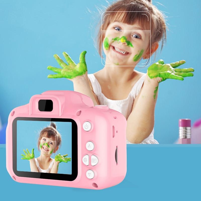 Kids Camera Waterproof 1080P HD Screen Camera Video Toy HD 1080P 8 Million Pixel Children's Cute Camera Birthday New Year Gifts