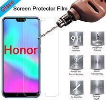 Película protectora frontal de teléfono para Huawei Honor 8C 7C, Protector de pantalla HD, vidrio templado endurecido para Honor 8A 7A 6A Pro 5A 4A