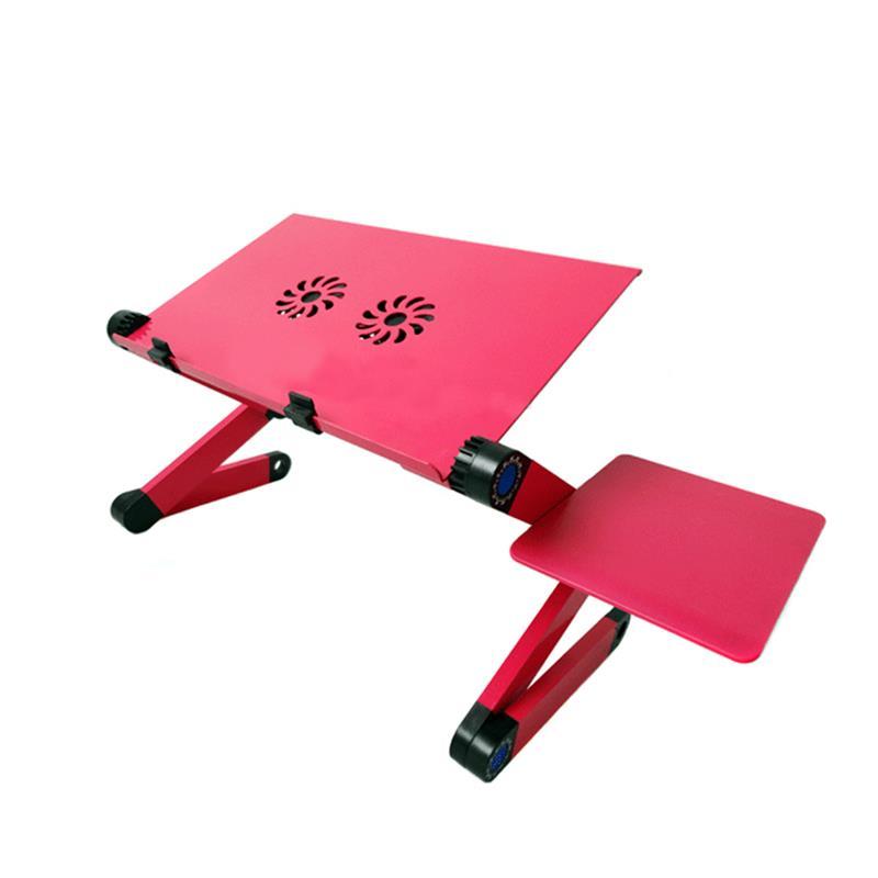 قابل للتعديل طاولة حاسوب محمول قابلة للطي حامل دفاتر الملاحظات كسول سبائك الألومنيوم طاولة السرير
