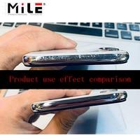 Полировальная паста MILE мобильный телефон с серебристой рамкой для IPhone X, Xs Max