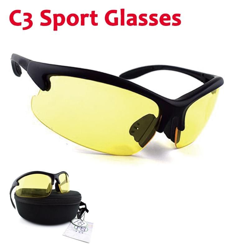 Gafas deportivas para hombre Daisy C3, gafas Airsoft tácticas, gafas militares, gafas de ejército para disparar, senderismo, escalada, gafas 4 lentes