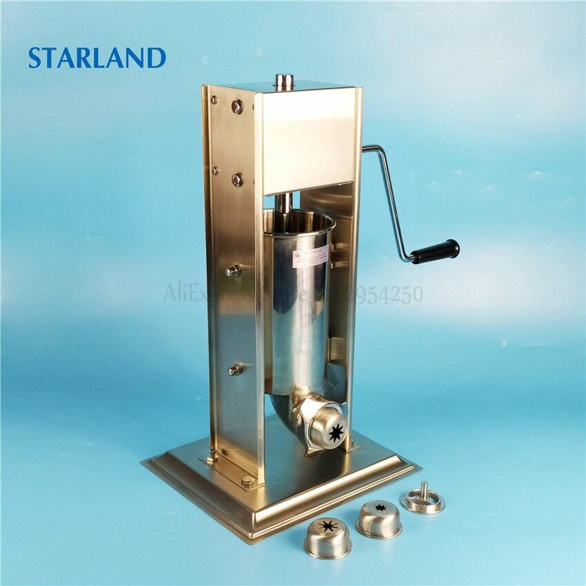 2L ماكينة تعبئة النقانق الاسبانية دليل آلة كروس الفولاذ المقاوم للصدأ السجق ستوفير تشورو البثق ماكر دليل