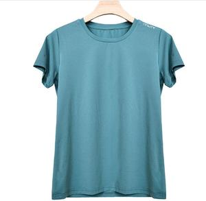 Ladies Sports Quick-drying Ice Silk Mesh Breathable Half Sleeve T-Shirt Short Sleeve