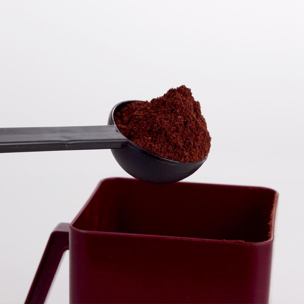 Cuchara de café Espresso 2 en 1 que mide 10g cucharada de azúcar Tamper Tea Tool cocina hornear cuchara medidora cucharilla