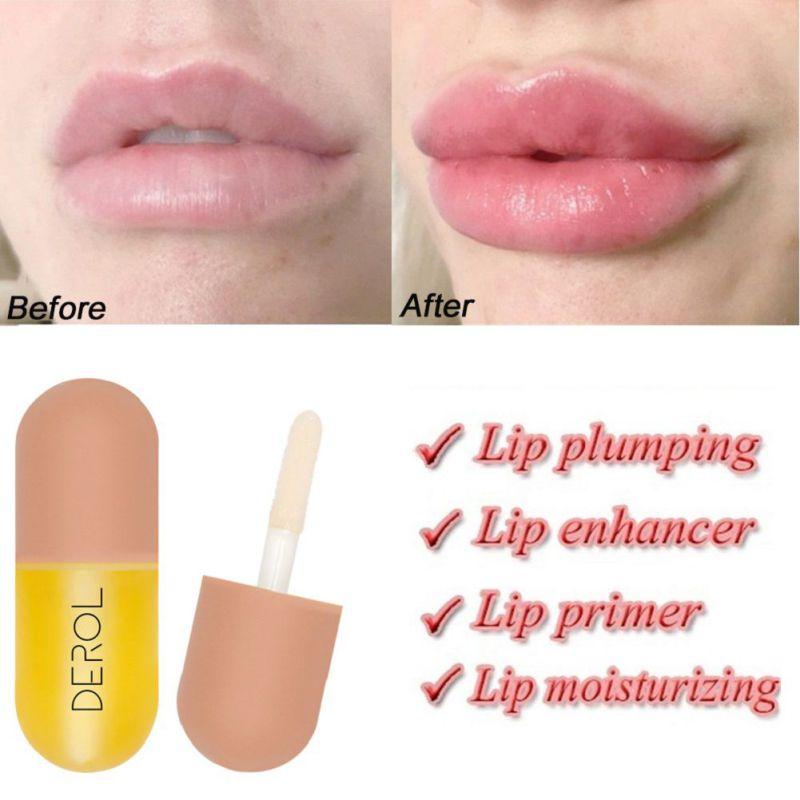 Dispositivo de bálsamo de relleno de labios para mejorar el brillo de labios
