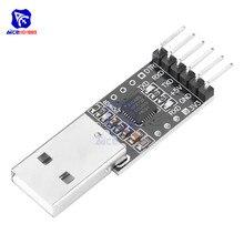 Diymore CP2102 USB 2.0 to TTL UART 모듈 6 핀 직렬 컨버터 STC Arduino 3.3V/5V 용 FT232 어댑터 모듈 교체