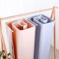 square spiral shaped quilt sheets hanger stainless steel rotating drying rack save space blanket hanger home balcony hangers