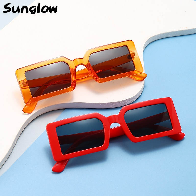Sunglow Square Sunglasses Women Fashion Designer Female Glasses Lightweight Multicolor Optional Leis