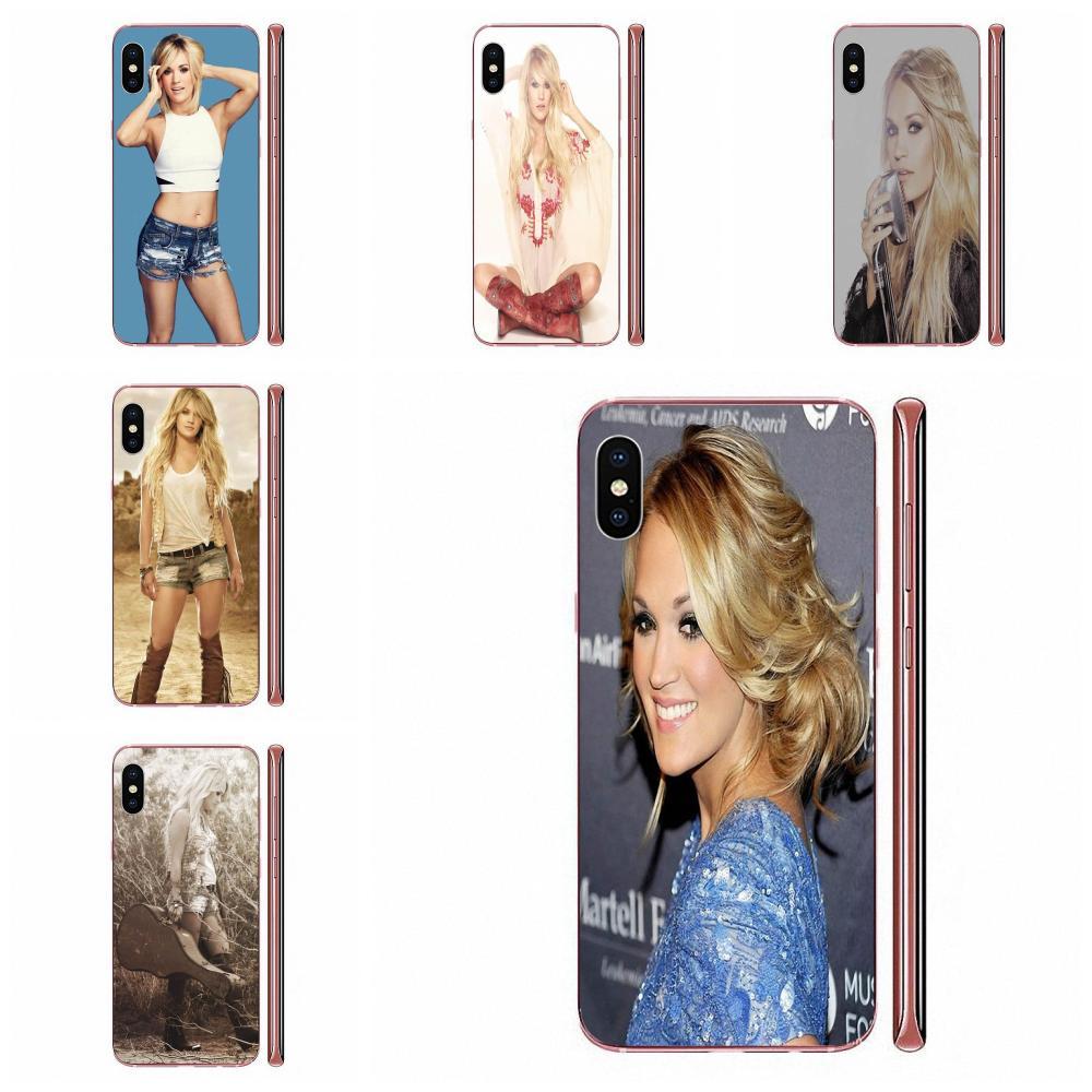 TPU en directo del teléfono de Carrie Underwood Pad ordenador para Galaxy J1 J2 J3 J330 J4 J5 J6 J7 J730 J8 2015, 2016, 2017, 2018 mini Pro
