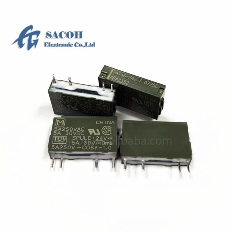 g7sa 3a1b 24vdc safety relays 5PCS/lot New OriginaI PA1AS-24V PA1AS-24VDC APA3352 5A 250VDC DIP-4 Power Relays