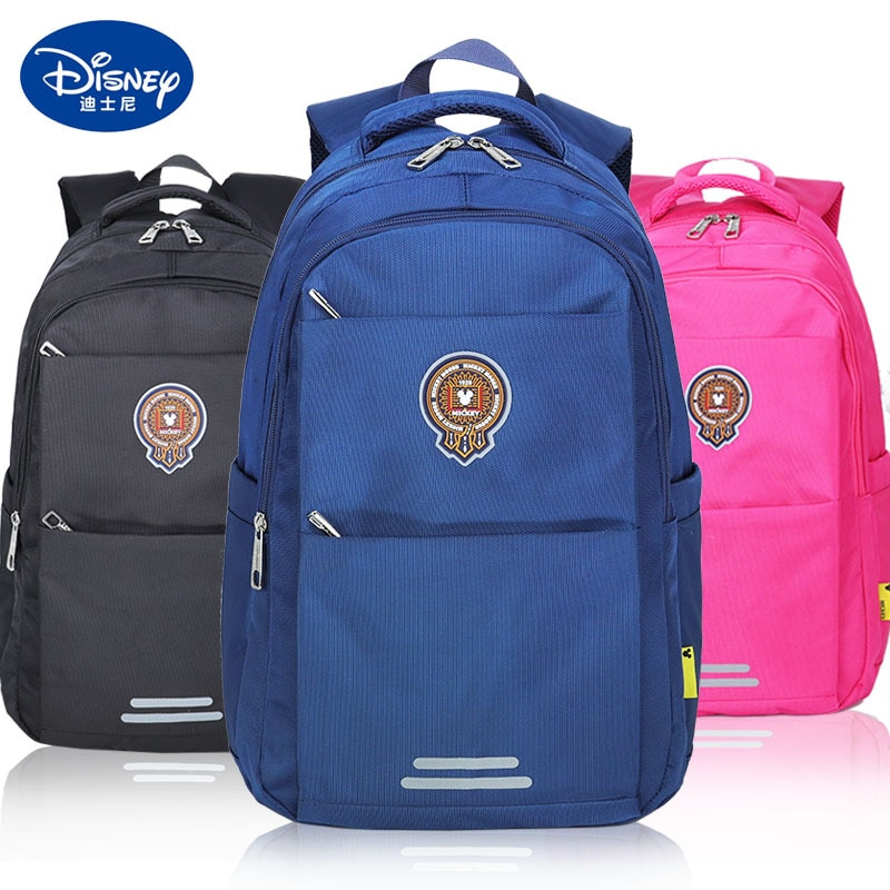 Original Disney Primary School Children's Schoolbag Men's And Women's Backpack Shoulder Pack Shoulder Bag Leisure Backpack