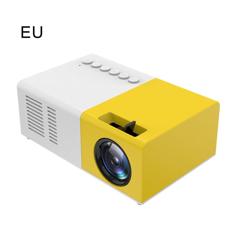 المحمولة العارض ثلاثية الأبعاد HD LED المسرح المنزلي سينما 1080p HDMI متوافق USB الصوت العارض Yg300 جهاز عرض صغير كامارا Masanori