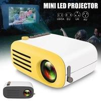 Lecteur multimedia multimedia Mini projecteur LED HD 1080P pour projecteur Portable Home Cinema FKU66