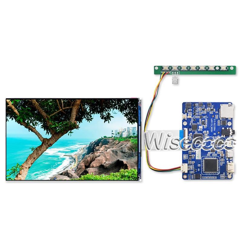 Wisecoco LT070ME05000 TFTMD070021 شاشة LCD 7 بوصة IPS عرض 1920x1200 MIPI نوع C لوحة للقيادة قرص التوت pi