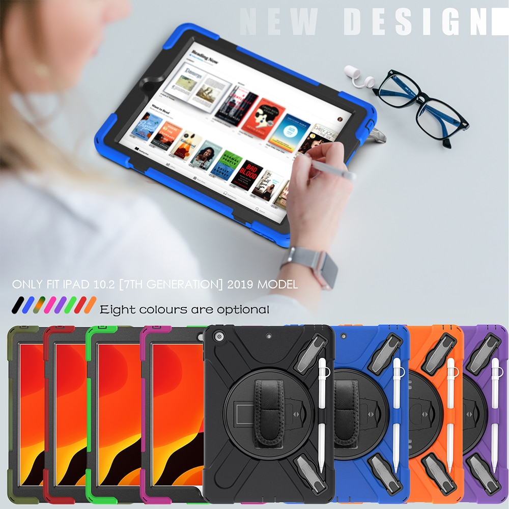 A2270 A2200 10.2 for Cover A2428 Armor Case iPad Kids Heavy A2198 A2429 Shokproof A2197