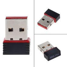 150Mbps USB 2.0 Wireless USB WiFi Adapter Wireless Networking Card 802.11 b/g/n 2.4GHz LAN Adapter Antenna Wi-fi Adapters