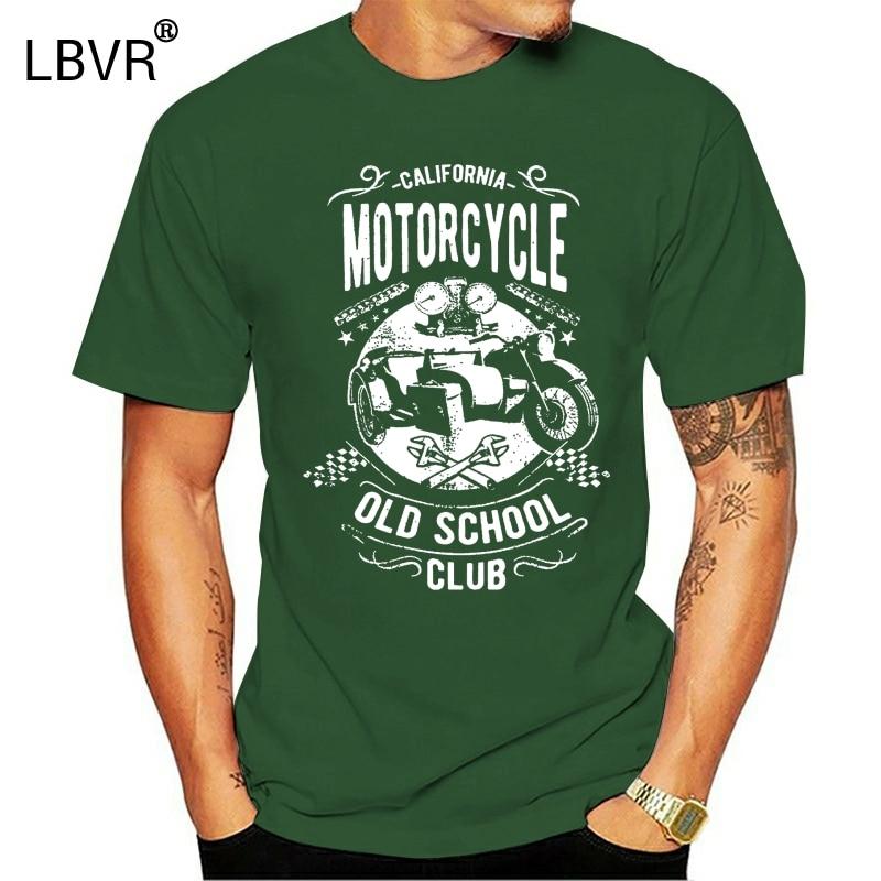 Camiseta para hombre, camiseta de motorista americana, ropa Retro de algodón, camiseta divertida, camiseta novedosa para mujer