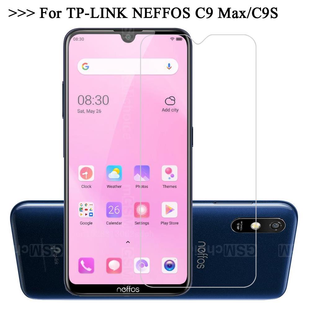 Vidrio templado para TP-LINK NEFFOS C9 MAX película protectora de teléfono HD 9H Protector de pantalla para TP-LINK NEFFOS C9s