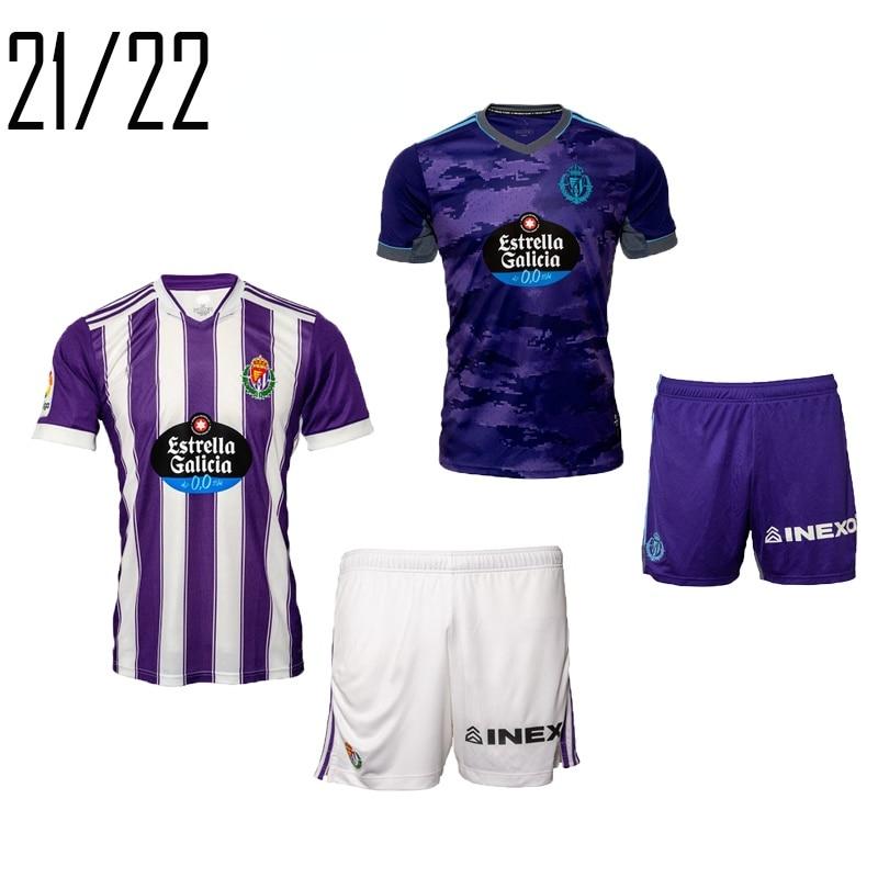 2021 nuevo 2022 Real Valladolid camisetas niños adultos hogar Sánchez GUARDIOLA niño...