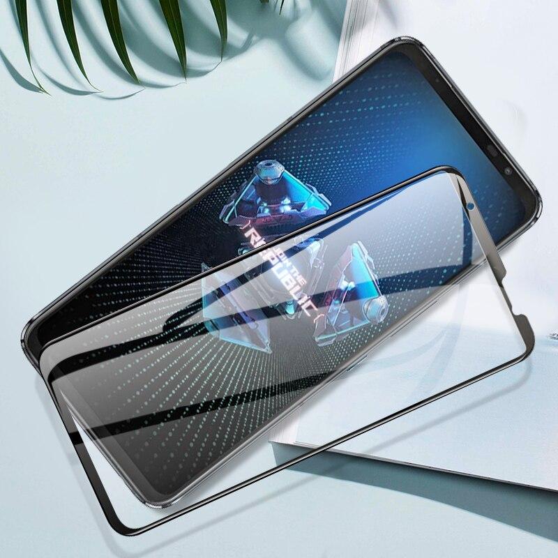 Pegamento completo para Asus ROG phone 5, 3, 2, protector de pantalla...